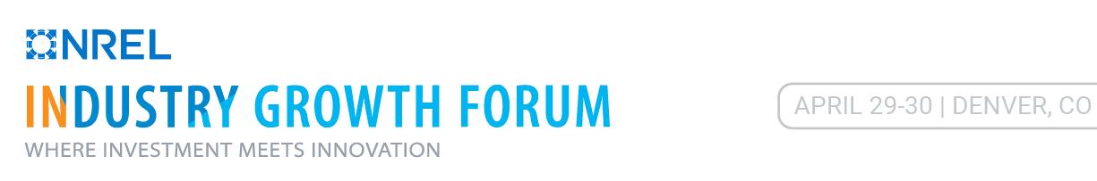 NRELIndustryGrowthForum2020